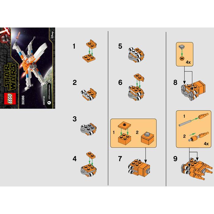 Lego Poe Dameron S X Wing Fighter Set 30386 Instructions Brick Owl Lego Marketplace