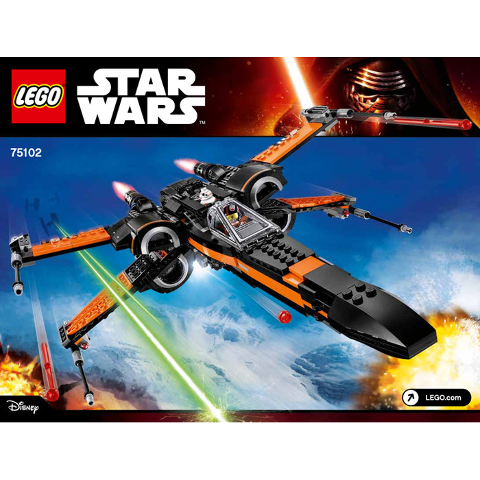 Lego Poes X Wing Fighter Set 75102 Instructions Brick Owl Lego