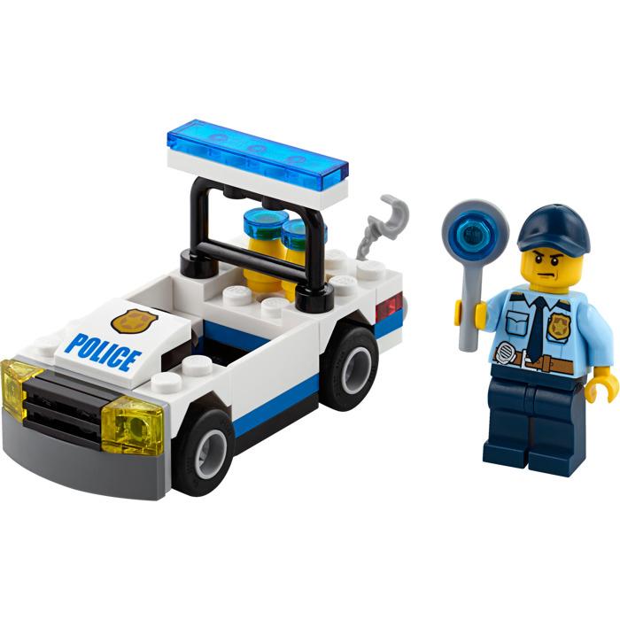 Lego Police Car Set 30352 Brick Owl Lego Marketplace
