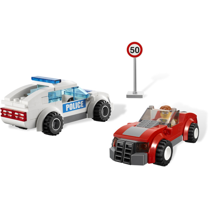 lego police chase instructions