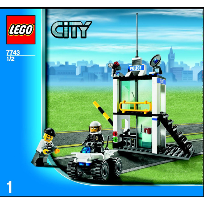 Lego Police Command Centre Set 7743 Instructions Brick Owl Lego