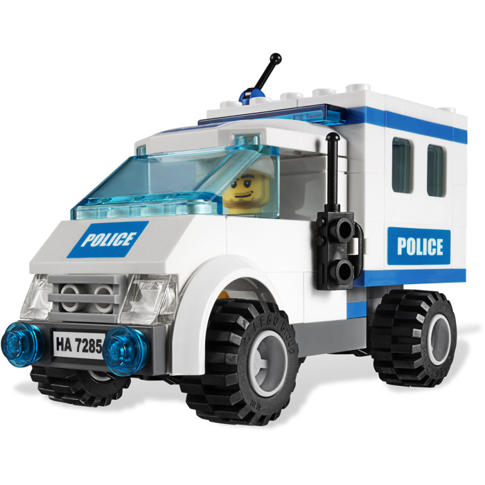 lego police dog unit instructions