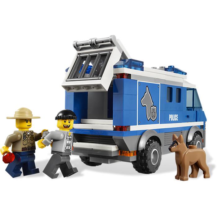 lego police k9 unit instructions