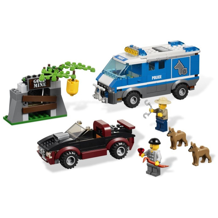 Lego Police Dog Van Videos