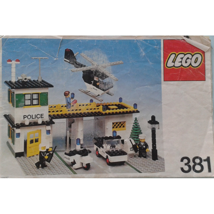Lego Police Headquarters Set 381 2 Instructions Brick Owl Lego