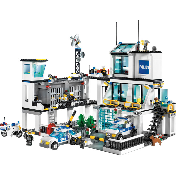 Lego Police Headquarters Set 7744 Brick Owl Lego Marketplace