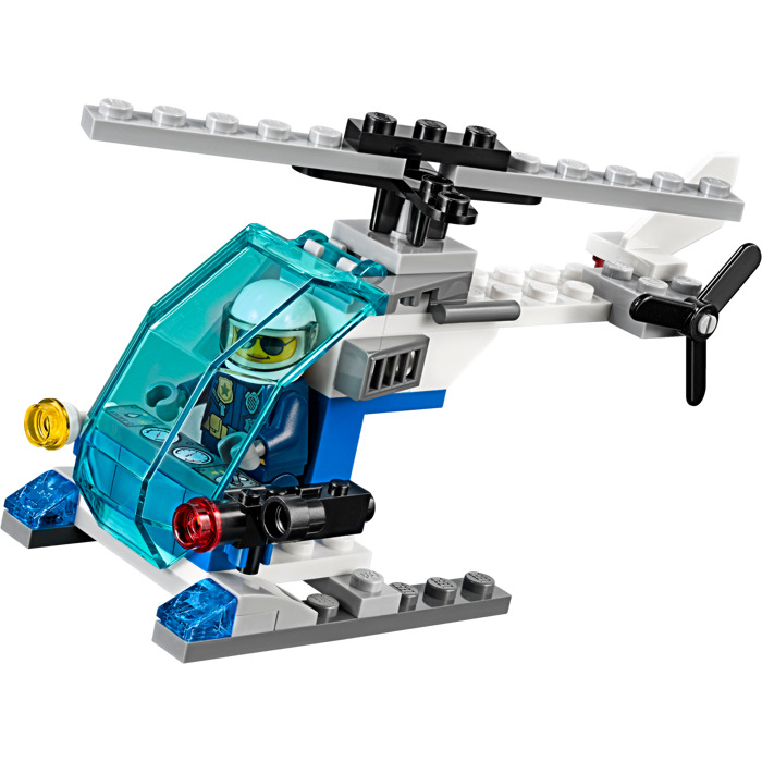 lego police helicopter instructions 10720