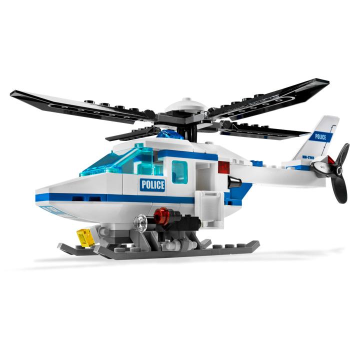 lego police helicopter set 7741 brick owl lego marketplace