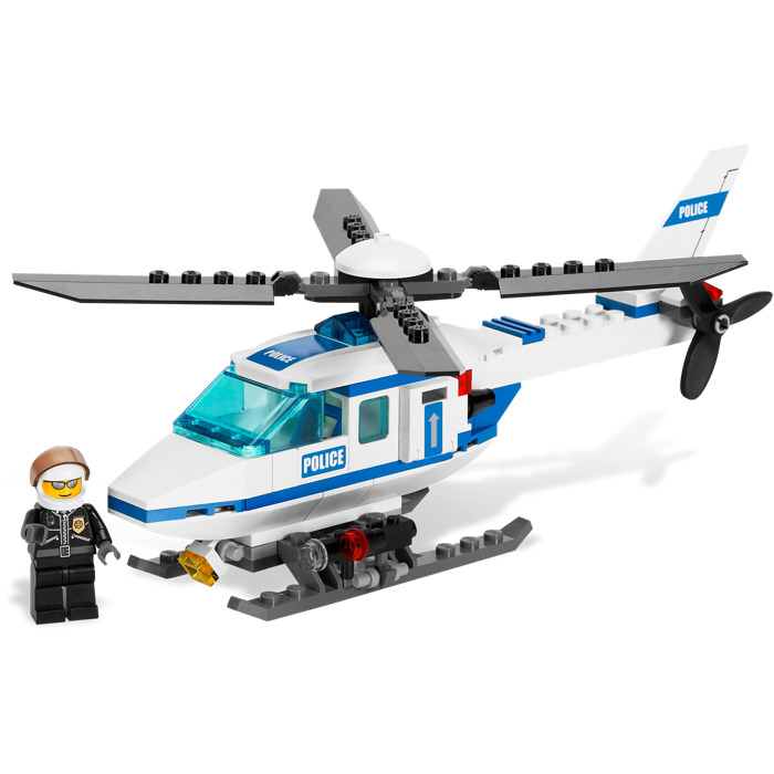 lego police helicopter set 7741 brick owl lego marketplace