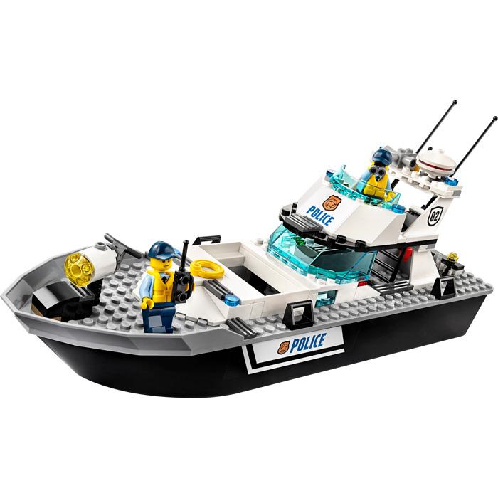 lego police boat instructions