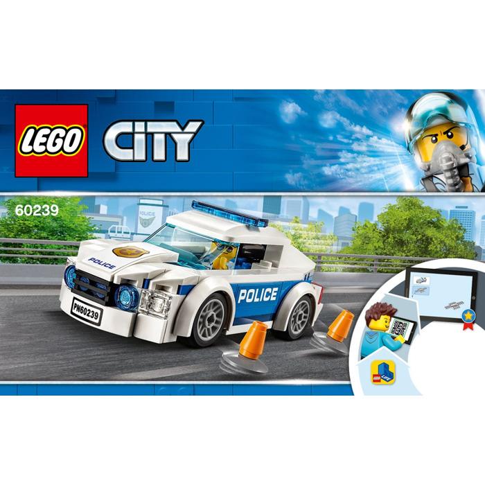 LEGO Police Patrol Car Set 60239 Instructions