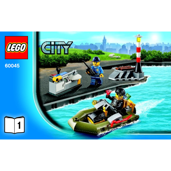 LEGO Police Patrol Set 60045 Instructions | Brick Owl - LEGO Marketplace