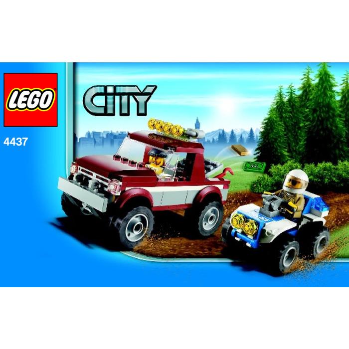 Lego Police Pursuit Set 4437 Instructions Brick Owl Lego Marketplace