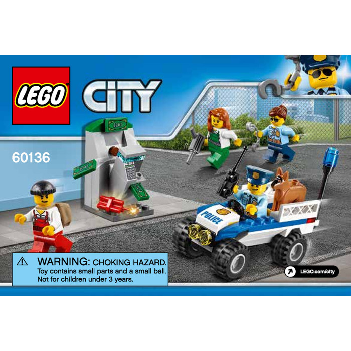 Lego Police Starter Set 60136 Instructions Brick Owl Lego