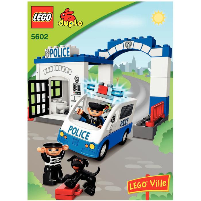 Lego Police Station Set 5602 Instructions Brick Owl Lego Marketplace