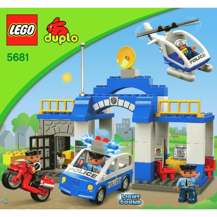 Lego Police Station Set 5681 Instructions Brick Owl Lego Marketplace
