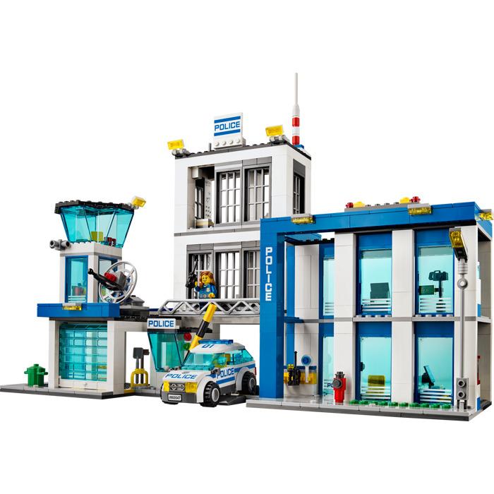 Lego Lego City Police Station Instructions