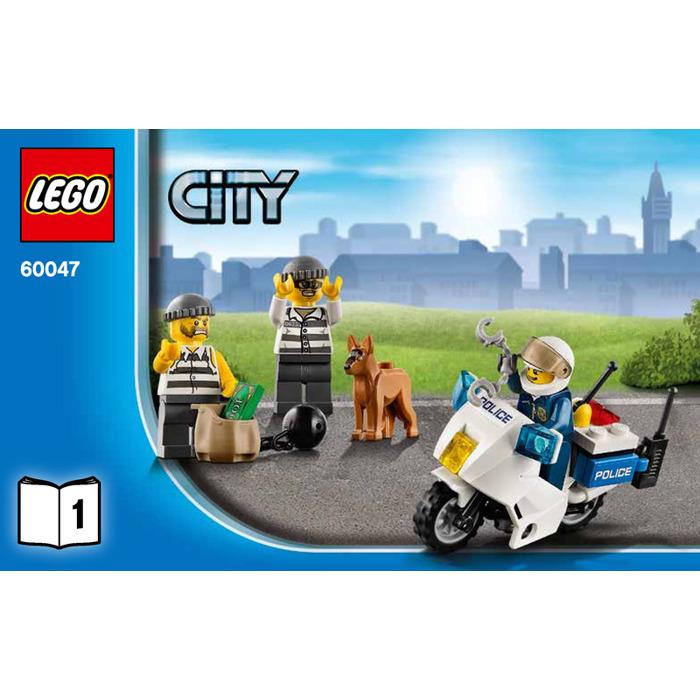 Lego Police Station Set 60047 Instructions Brick Owl Lego