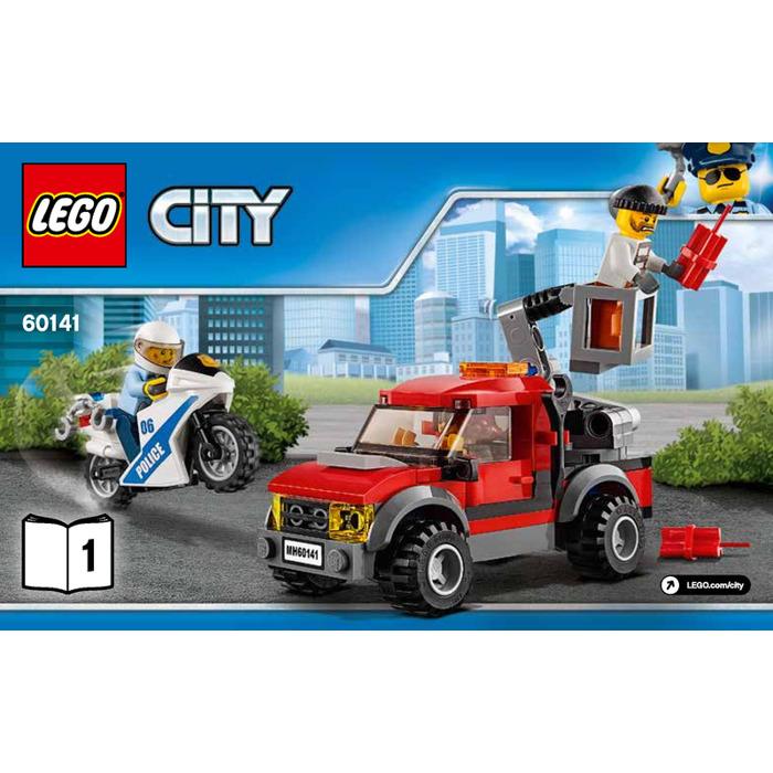 Lego Police Station Set 60141 Instructions Brick Owl Lego