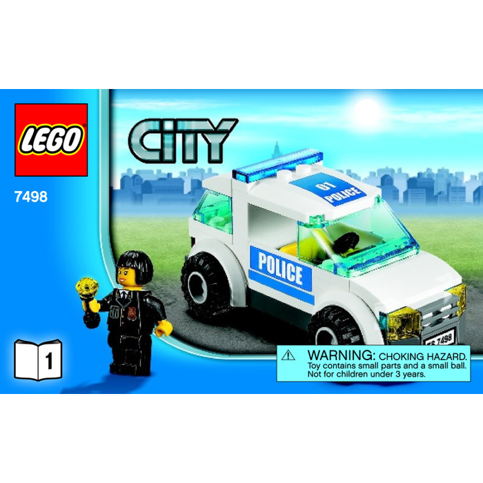 Lego Police Station 7498 Lego Police Boat Instructions 7287 City