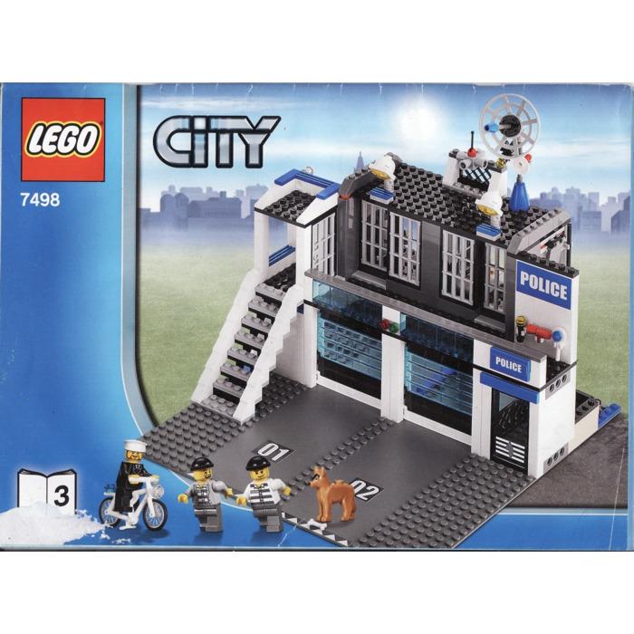 Lego Police Station Set 7498 Instructions Brick Owl Lego Marketplace
