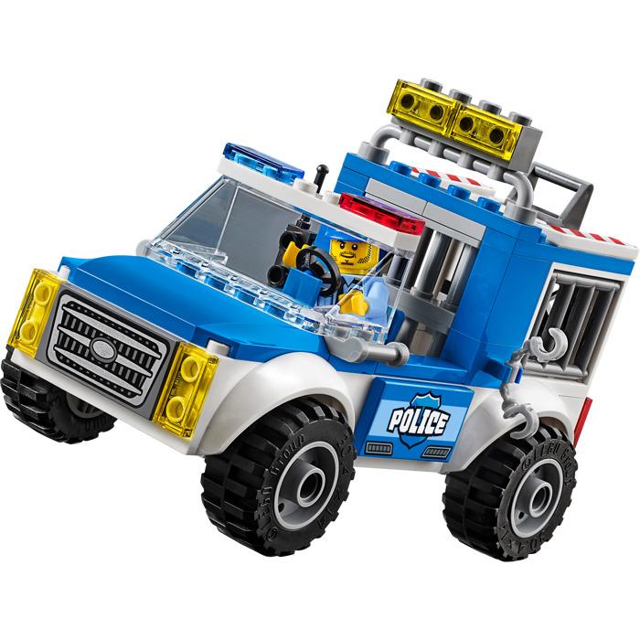 lego police car instructions