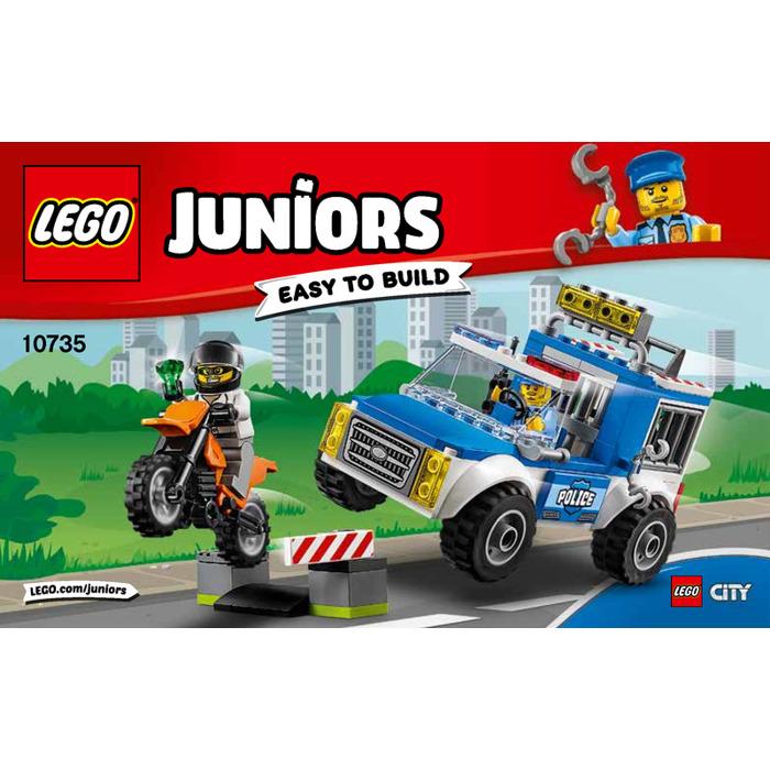 Lego Police Truck Chase Set 10735 Instructions Brick Owl Lego