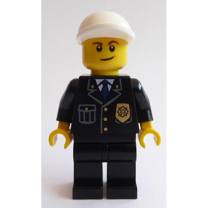 LEGO Policeman with Blue Tie Minifigure | Brick Owl - LEGO ...