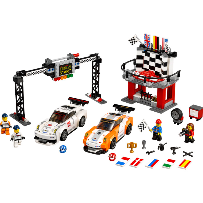 lego porsche 911 gt finish line set 75912 brick owl lego marketplace. Black Bedroom Furniture Sets. Home Design Ideas