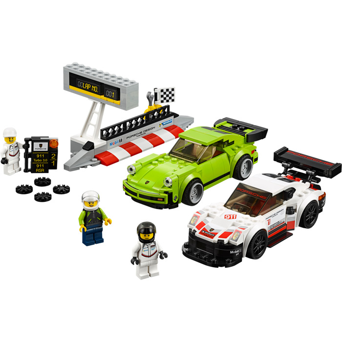 lego porsche 911 rsr and 911 turbo 3 0 set 75888 brick. Black Bedroom Furniture Sets. Home Design Ideas