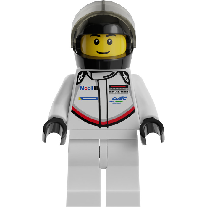 lego porsche 911 rsr driver minifigure brick owl lego. Black Bedroom Furniture Sets. Home Design Ideas
