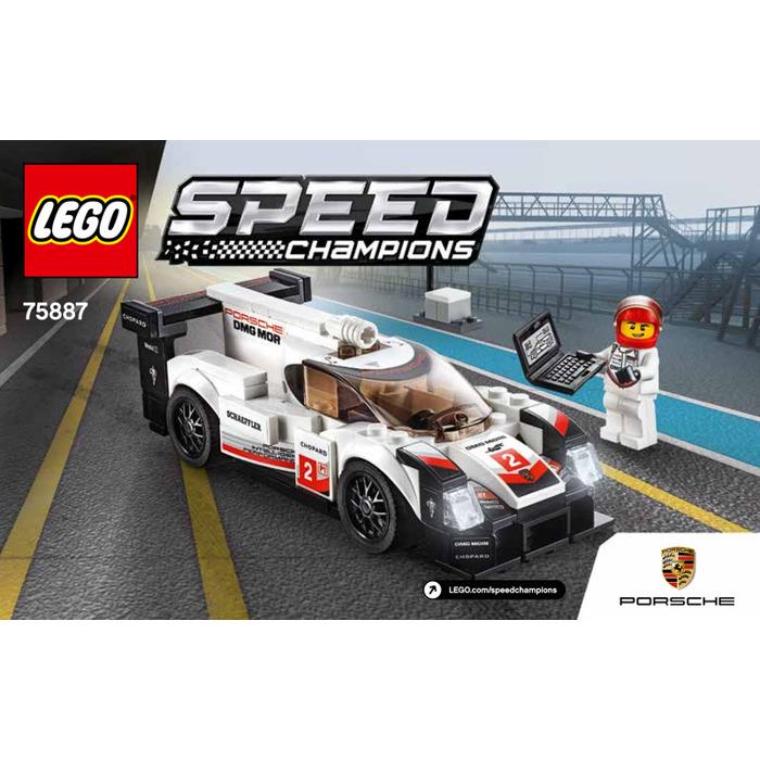lego porsche 919 hybrid set 75887 instructions brick owl. Black Bedroom Furniture Sets. Home Design Ideas