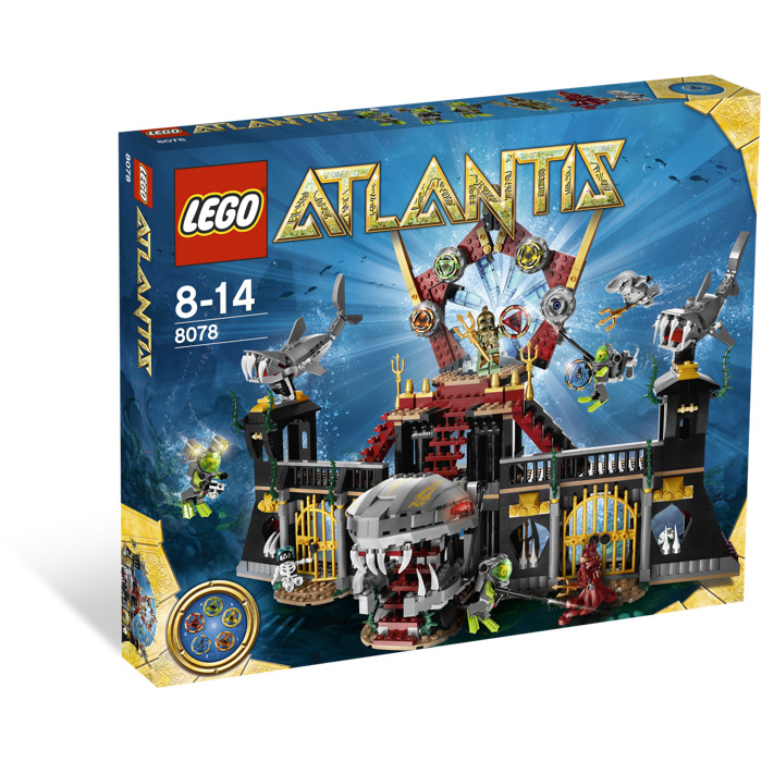 lego portal of atlantis set 8078 brick owl lego. Black Bedroom Furniture Sets. Home Design Ideas