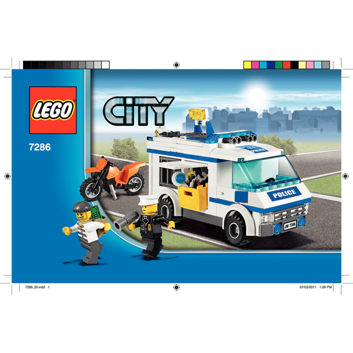 Lego Prisoner Transport Set 7286 Instructions Brick Owl Lego