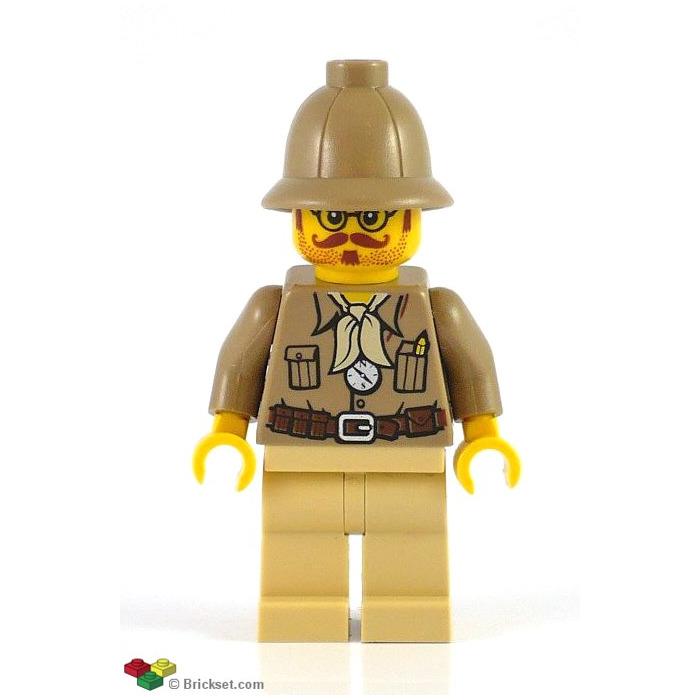 Helm 30172 Pith Helmet dark tan Lego 2 Stück Tropenhelm in dunkelbeige