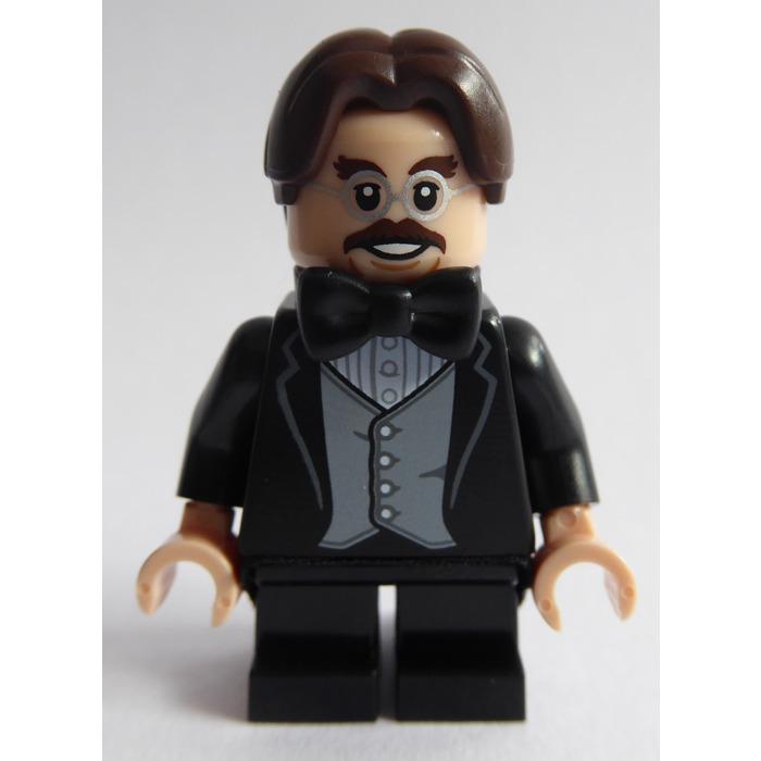 Lego New Black Minifig Bow Tie Piece