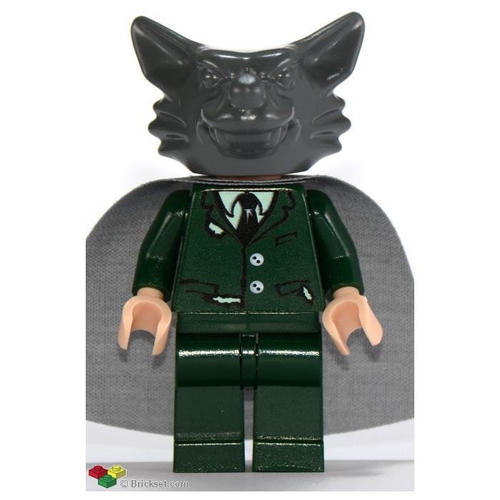Lego Professor Lupin Werewolf Minifigure Inventory