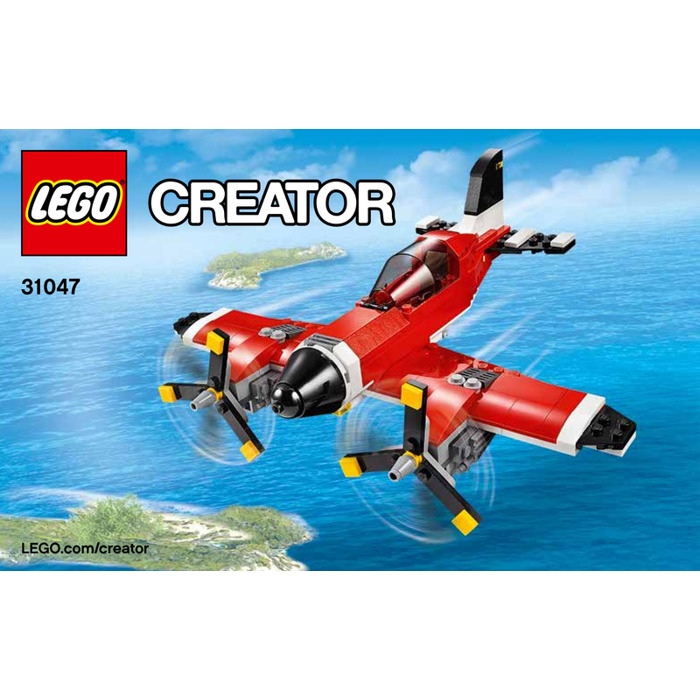 Lego Propeller Plane Set 31047 Instructions Brick Owl Lego