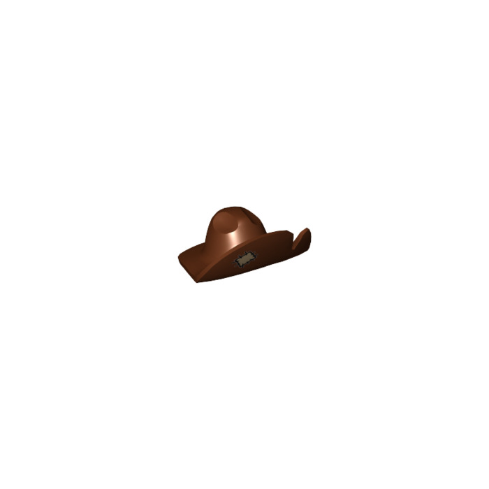 LEGO Prospector Hat with Tan Patch with Black Stitches Pattern (18063) 3bafc09cc17