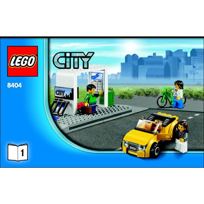 Lego Public Transport Station Set 8404 Instructions Brick Owl