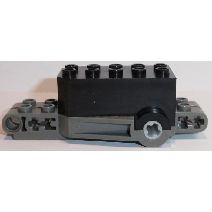Lego Pullback Motor 9 X 4 X 2 13 With Dark Gray Base Brick Owl