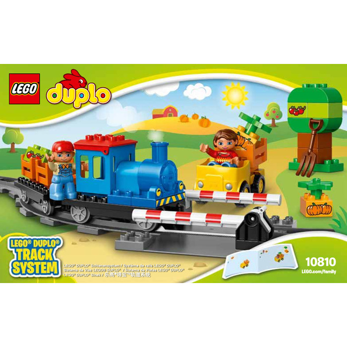 Lego Push Train Set 10810 Instructions Brick Owl Lego Marketplace