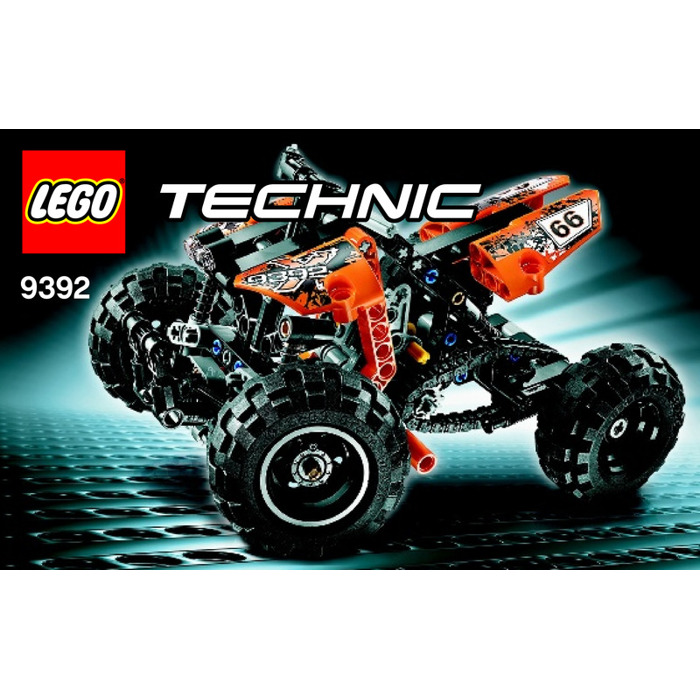 lego quad bike set 9392 instructions brick owl lego. Black Bedroom Furniture Sets. Home Design Ideas