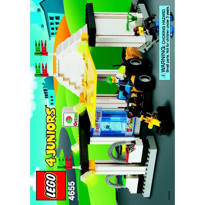 lego quick fix station set 4655 instructions brick owl. Black Bedroom Furniture Sets. Home Design Ideas