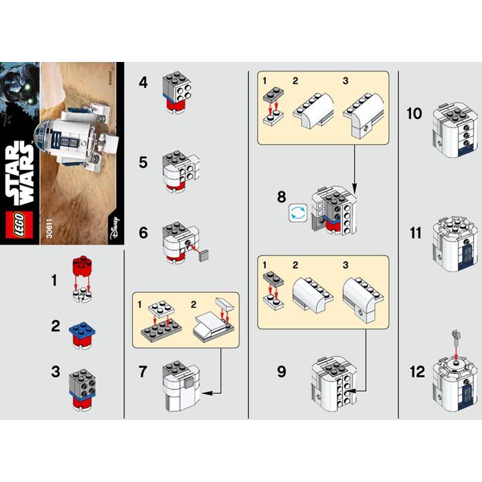 Lego R2 D2 Set 30611 Instructions Brick Owl Lego Marketplace