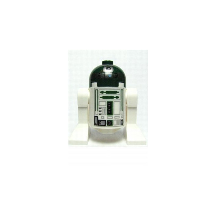 LEGO Round Brick 2 x 2 x 2 with Green, Gray, and Black Astromech ...