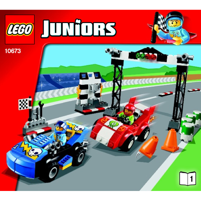 Lego Race Car Rally Set 10673 Instructions Brick Owl Lego