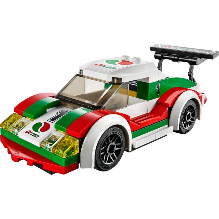 lego city race car instructions
