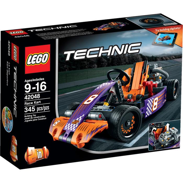 lego race kart set 42048 brick owl lego marketplace. Black Bedroom Furniture Sets. Home Design Ideas