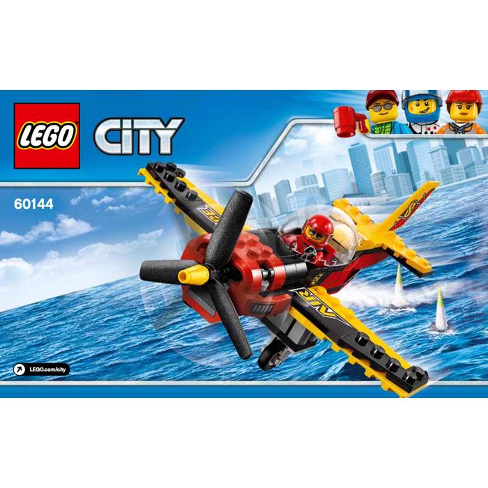 Lego Race Plane Set 60144 Instructions Brick Owl Lego Marketplace